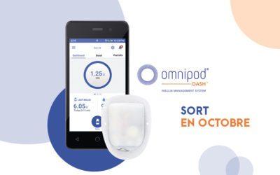 L'omnipod Dash sort en octobre !