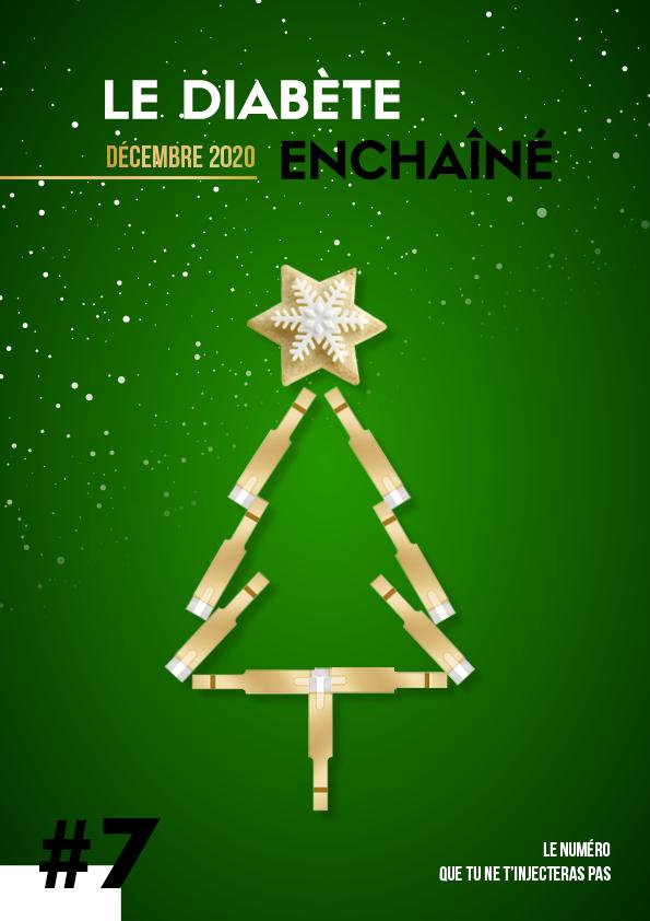 Couverture du Diabète Enchaîné #7 de décembre sur Noël